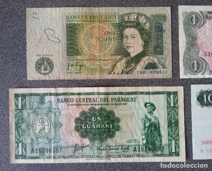 Billetes extranjeros: Lote billetes Inglaterra Republica Dominicana Argentina Paraguay Suecia Indonesia España Guatemala - Foto 13 - 205036525