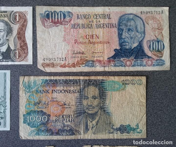 Billetes extranjeros: Lote billetes Inglaterra Republica Dominicana Argentina Paraguay Suecia Indonesia España Guatemala - Foto 15 - 205036525