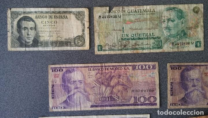Billetes extranjeros: Lote billetes Inglaterra Republica Dominicana Argentina Paraguay Suecia Indonesia España Guatemala - Foto 16 - 205036525