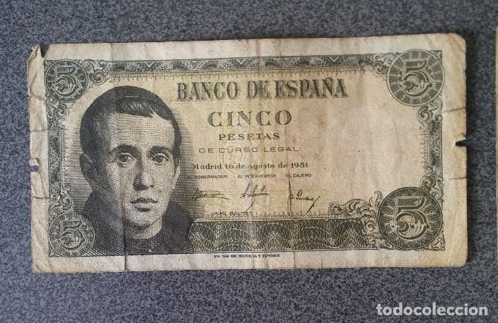 Billetes extranjeros: Lote billetes Inglaterra Republica Dominicana Argentina Paraguay Suecia Indonesia España Guatemala - Foto 17 - 205036525