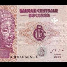 Banconote internazionali: CONGO 50 FRANCS 2013 PICK 97A SC UNC. Lote 242100480