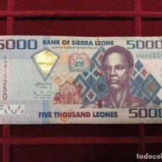 Billetes extranjeros: SIERRA LEONA 5000 LEONES 2010 PICK 32. Lote 205694491