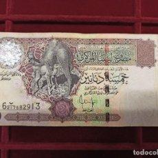 Billetes extranjeros: LIBIA LIBYA 5 DINARES 2004 PICK 69B. Lote 205695327