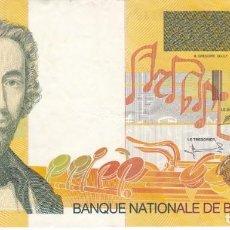 Banconote internazionali: BILLETE DE BELGICA DE 200 FRANCOS DEL AÑO 1995 DE ADOLPHE SAX. Lote 205815570