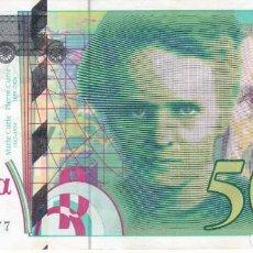 Billetes extranjeros: BILLETE DE FRANCIA DE 500 FRANCOS DEL AÑO 1994 CALIDAD EBC. Lote 205816187