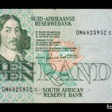 Billetes extranjeros: SUDAFRICA SOUTH AFRICA 10 RAND 1978-1993 PICK 120D DM BC/MBC F/VF. Lote 206246777