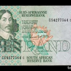Billetes extranjeros: SUDAFRICA SOUTH AFRICA 10 RAND 1978-1993 PICK 120D CS BC/MBC F/VF. Lote 206246863