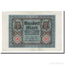 Billetes extranjeros: BILLETE, 100 MARK, 1920, ALEMANIA, 1920-11-01, KM:69B, MBC+. Lote 206296567