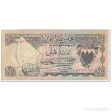 Billetes extranjeros: BILLETE, 100 FILS, 1964, BAHRÉIN, UNDATED (1964), KM:1A, BC. Lote 206296692