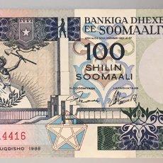 Notas Internacionais: SOMALIA. 100 SHILIN. Lote 206780633