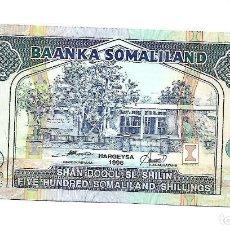 Notas Internacionais: SOMALILANDIA 500 SOMALILAND SHILLINGS 1996 PICK 6B . SIN CIRCULAR. Lote 206879073