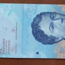 Banconote internazionali: VENEZUELA 2 BOLÍVARES 2013 (SC). Lote 209043630