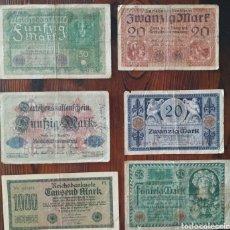 Billetes extranjeros: PRECIOSOS BILLETES DE BERLÍN, MUY ANTIGUOS,L14. Lote 209596645