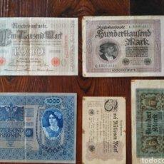 Billetes extranjeros: PRECIOSOS 5 BILLETES DE BERLÍN,L19. Lote 209600342