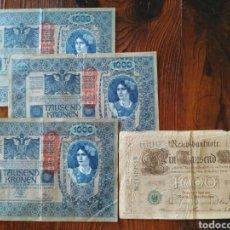 Billetes extranjeros: PRECIOSO LOTE DE 4 BILLETES DE BERLÍN,L20. Lote 209600723