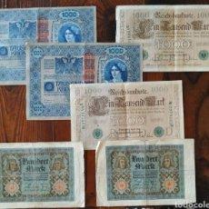 Billetes extranjeros: PRECIOSO LOTE DE 6 BILLETES DE BERLÍN,L21. Lote 209601300