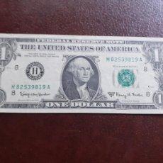 Billetes extranjeros: ESTADOS UNIDOS. DOLLAR 1963 EBC. Lote 209765705