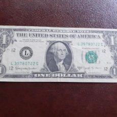 Billetes extranjeros: ESTADOS UNIDOS. DOLLAR 1963 MBC. Lote 209765728