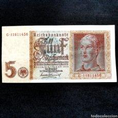 Banconote internazionali: C16. ALEMANIA NAZI III REICH. 5 REICHSMARK 1942. EXCELENTE EJEMPLAR. Lote 209980667