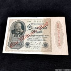 Banconote internazionali: C18. ALEMANIA. 1 BILLÓN MARK 1922. Lote 209980705