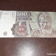 Notas Internacionais: RUMANIA ROMANIA 500 LEI 1991. Lote 210154712