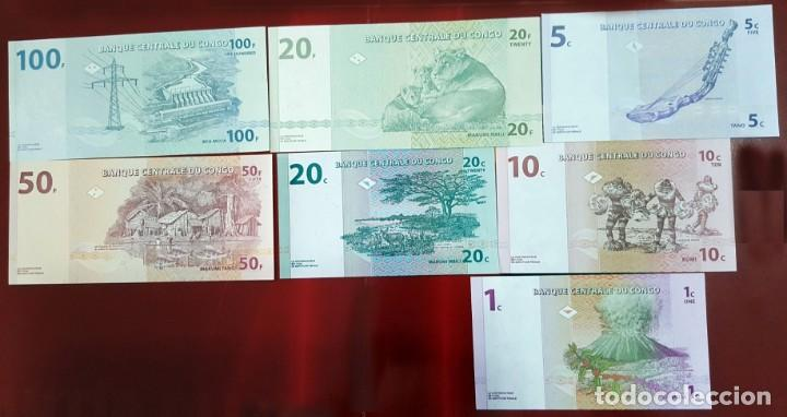 Billetes extranjeros: Lote billetes del Congo, Plancha - Foto 2 - 210463543
