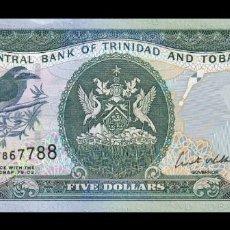 Billetes extranjeros: TRINIDAD & TOBAGO 5 DOLLARS 2006 PICK 47A SC UNC. Lote 210628600