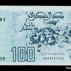 Billetes extranjeros: ARGELIA ALGERIA 100 DINARS 1992 PICK 137 SC UNC. Lote 210628603