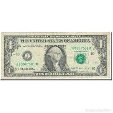 Billetes extranjeros: BILLETE, ONE DOLLAR, 1995, ESTADOS UNIDOS, UNDATED (1995), KM:4250, BC. Lote 211190672