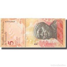 Billetes extranjeros: BILLETE, 5 BOLIVARES, 2011, VENEZUELA, 2011-02-03, KM:89A, UNC. Lote 211255281