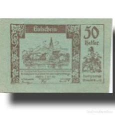 Billetes extranjeros: BILLETE, AUSTRIA, MAUTERN, 50 HELLER, VILLAGE 1920-04-02, SC MEHL:FS 600IIC1. Lote 211256436