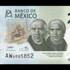 Billetes extranjeros: MÉXICO 200 PESOS CONMEMORATIVO 2019 PICK NUEVO FIRMA 4 SC UNC. Lote 211453821