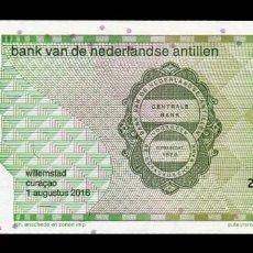 Billetes extranjeros: ANTILLAS HOLANDESAS NETHERLAND ANTILLES 10 GULDEN COLIBRI 2016 PICK 28H SC UNC. Lote 211454675