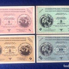 Billetes extranjeros: LOTE DE BILLETES ALEMANES ORIGINALES, OCUPACIÓN ALEMANA DE UNIÓN SOVIÉTICA 1944, WI IN NORD.. Lote 211628130
