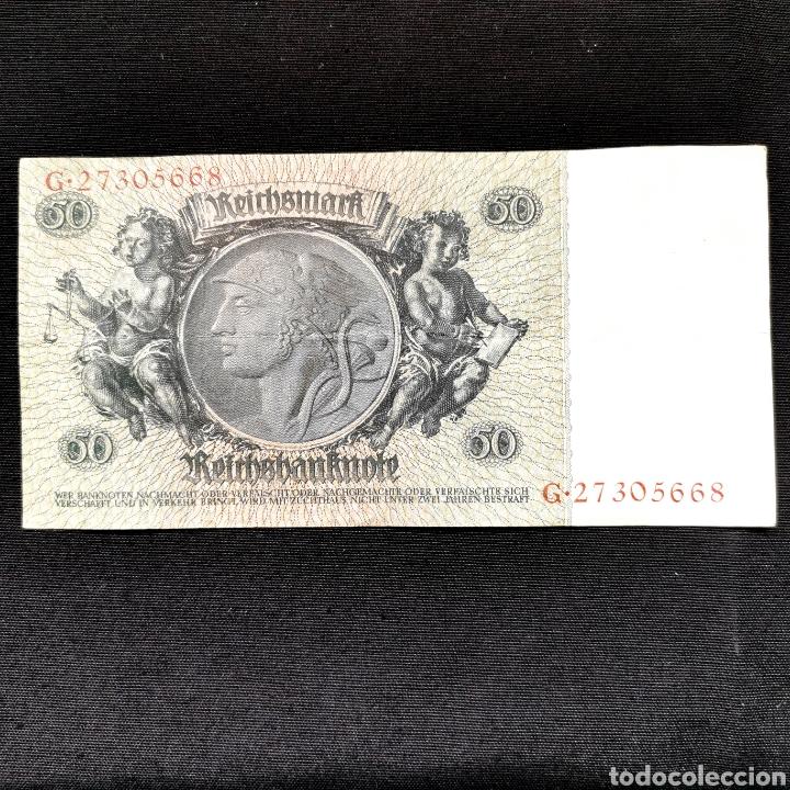 Billetes extranjeros: Alemania. 50 reichsmark 1933 - Foto 2 - 211832966