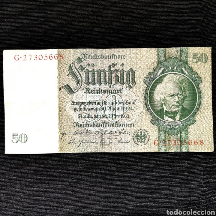 ALEMANIA. 50 REICHSMARK 1933 (Numismática - Notafilia - Billetes Extranjeros)