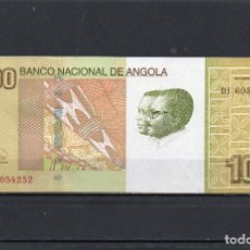 Billets internationaux: ANGOLA 2012, 100 KWANZAS, P-153B, SC-UNC, 2 ESCANER. Lote 211847528