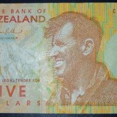Billets internationaux: NUEVA ZELANDA 5 DOLARES 2004. PICK 185. POLIMERO. Lote 234672880
