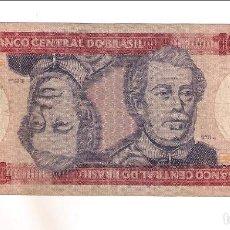 Billetes extranjeros: BILLETE DE 100 CRUZEIROS DE BRASIL DE 1981-84. BC. WORLD PAPER MONEY-198A (BE178). Lote 212091503