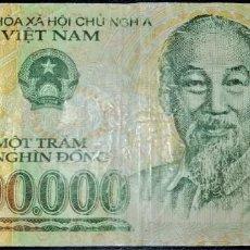 Billets internationaux: VIETNAM 100000 DONG 2005. PICK 122B. POLIMERO.. Lote 212156103