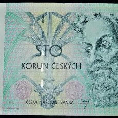 Billets internationaux: REPUBLICA CHECA 100 CORONAS CHECAS 1997. PICK 18.. Lote 212211317