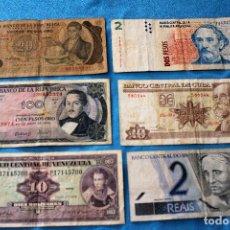 Billetes extranjeros: AMÉRICA 6 BILLETES LOTE 119. Lote 213663442
