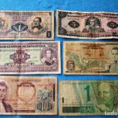 Billetes extranjeros: AMÉRICA 6 BILLETES LOTE 120. Lote 213663587