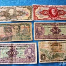 Billetes extranjeros: AMÉRICA 6 BILLETES LOTE 121. Lote 213663646