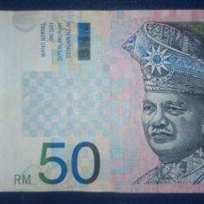 Billetes extranjeros: MALAYSIA MALASIA 50 RINGGIT AZ8135441. Lote 214006936