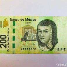 Billetes extranjeros: MAGNÍFICO BILLETE DE 200 PESOS DE MÉXICO. Lote 215008470