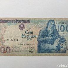Billetes extranjeros: 100 ESCUDOS 1985 PORTUGAL.. Lote 215506232