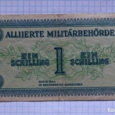 Billetes extranjeros: 1 CHELIN 1944 AUSTRIA. P #103B. Lote 216551330