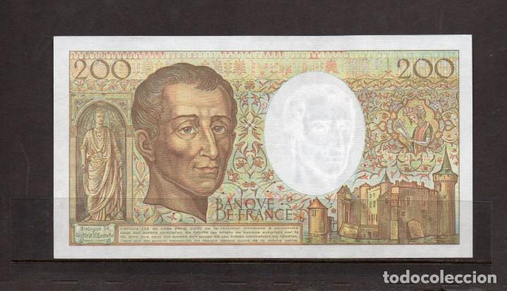 BILLETE DE FRANCIA DE 200 FRANCOS AÑO 1991, (Numismática - Notafilia - Billetes Extranjeros)