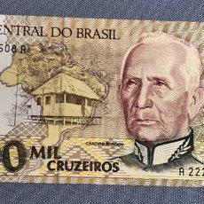 Billetes extranjeros: BRASIL - 1000 CRUZEIROS. Lote 217284926
